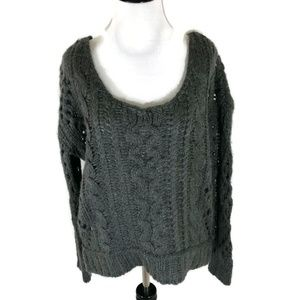 Free People Chunky Knit Sweater Size Small